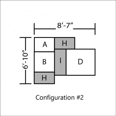 Additional image for lounge modular black