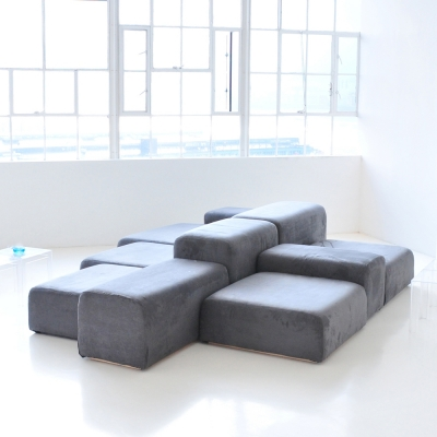 Additional image for lounge modular gray