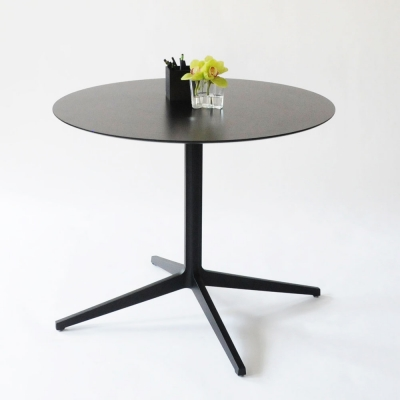 Additional image for leo round table black