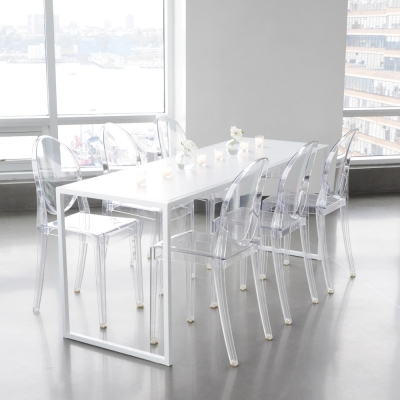 Additional image for bedford table white