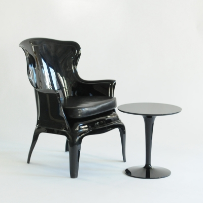 Additional image for tyler chair black