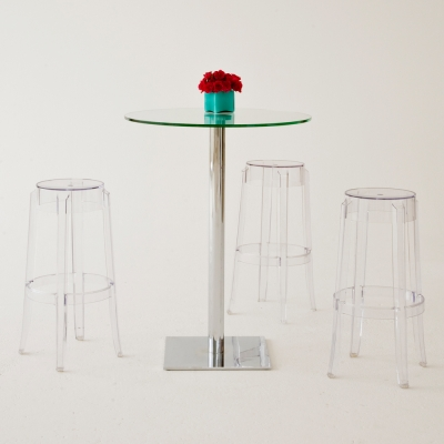 Additional image for charles ghost barstool clear
