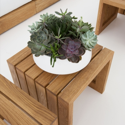 Additional image for slat side table/bench