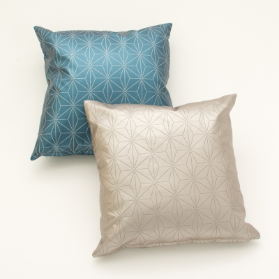 Additional image for etched blue pillow