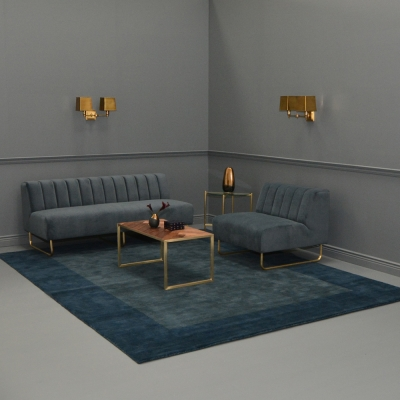 Additional image for regent area rug blue