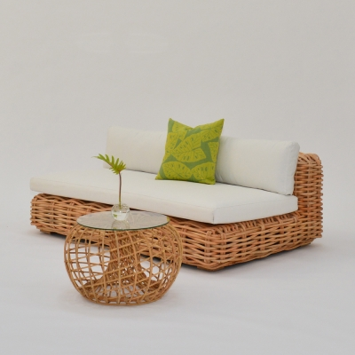 Additional image for palm leaf pillow