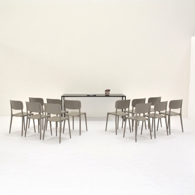 Additional image for harper chair taupe