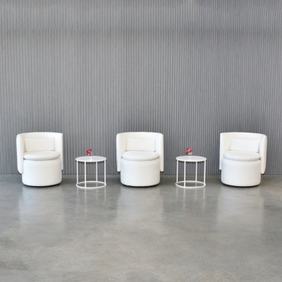 Additional image for swivel chair white