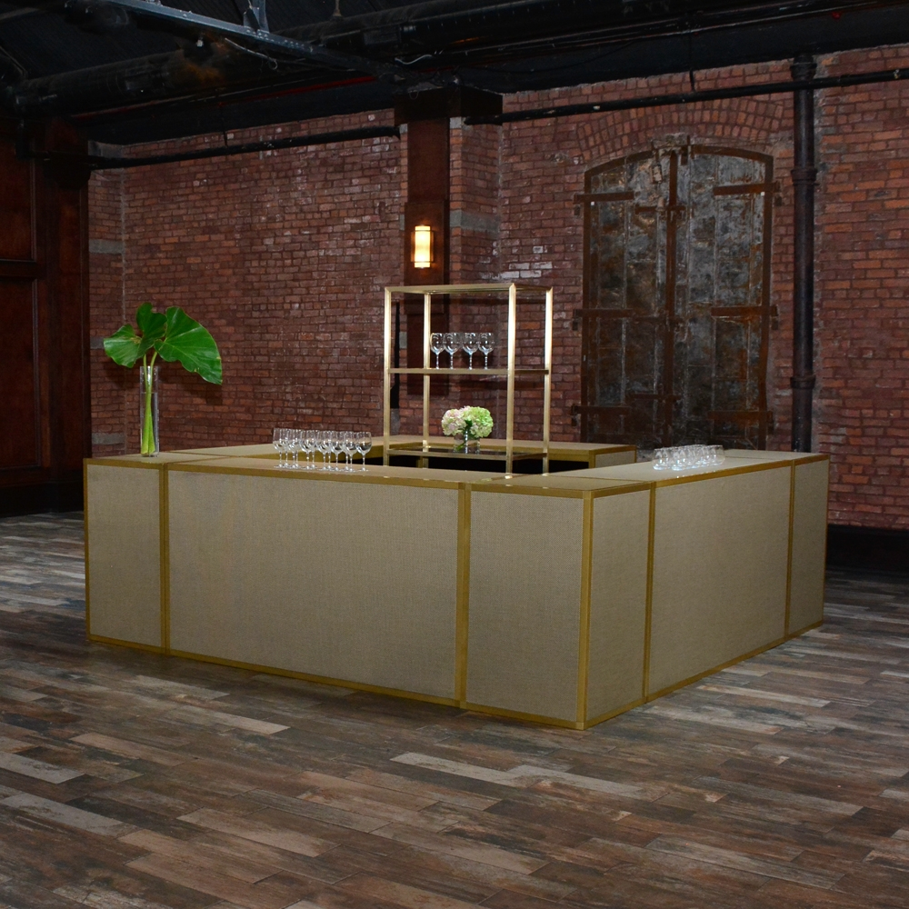 Additional image for chilewich bar - new gold