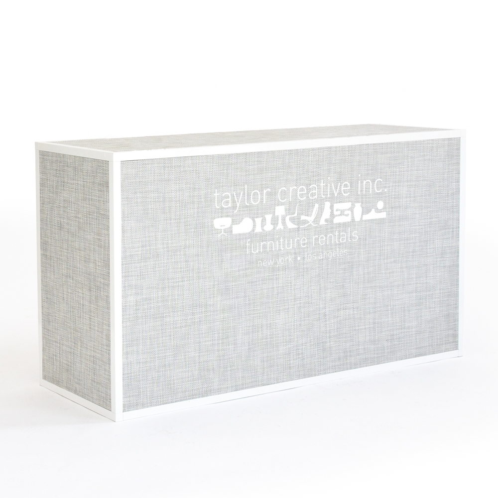 Additional image for chilewich bar - white/silver