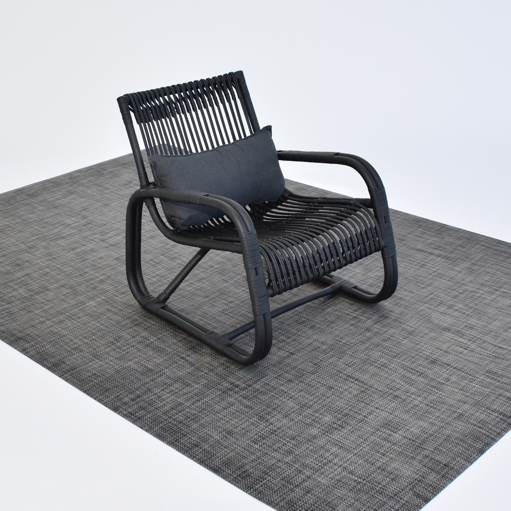 Additional image for chilewich floor mat carbon