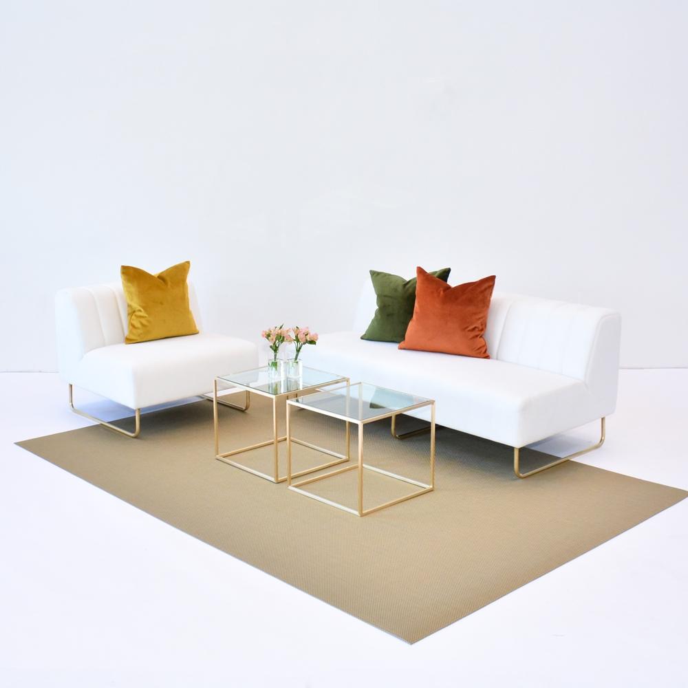 Additional image for ginger velvet pillow