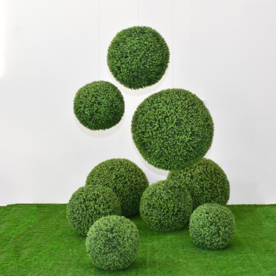 Additional image for faux boxwood sphere