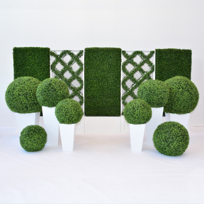 Additional image for faux lattice hedge