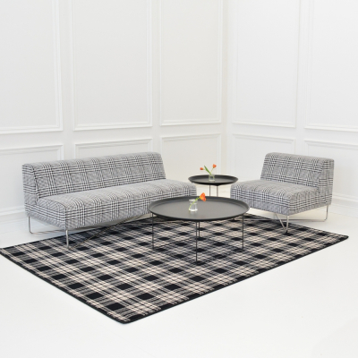 Additional image for st andrews plaid area rug