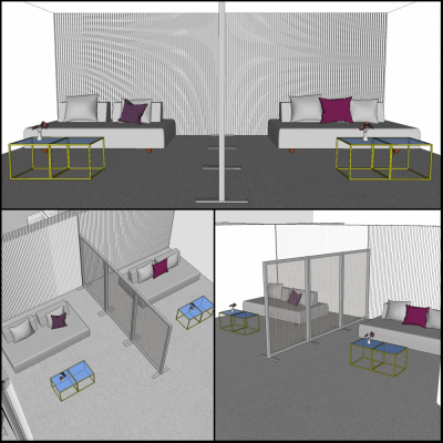 Additional image for softwall modular lounge