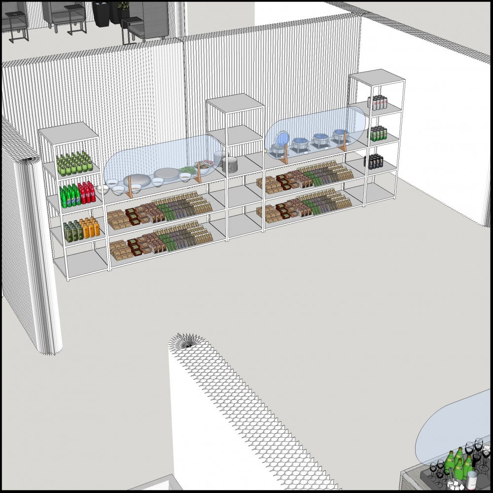 Additional image for softwall food service