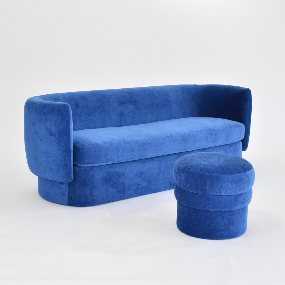 Additional image for sigrid stool sapphire
