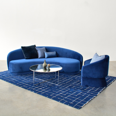 Additional image for slope sofa navy