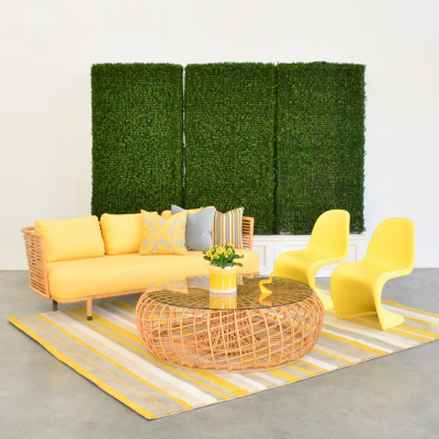 Additional image for panton chair yellow