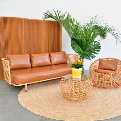 Additional image for cane sofa saddle