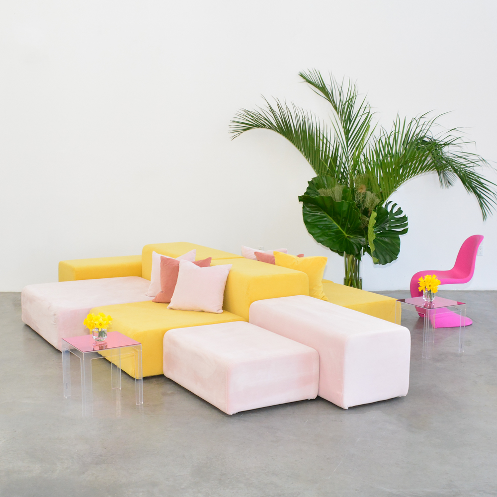 Additional image for panton chair pink