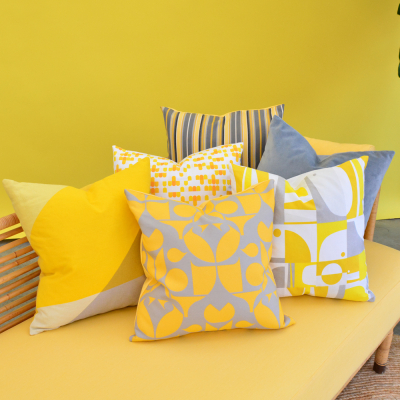 Additional image for fiesta stripe pillow