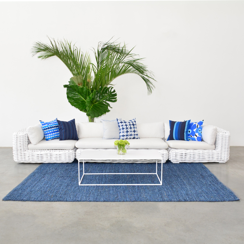 Additional image for crystal blue pillow