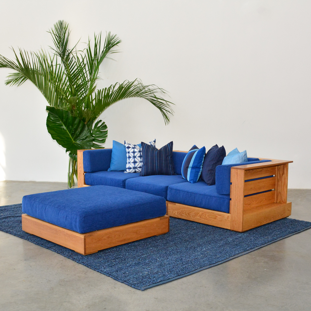 Additional image for caribbean blue pillow