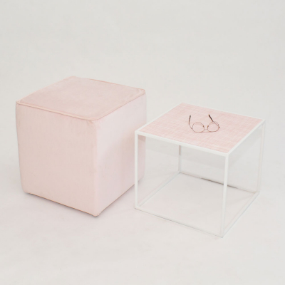 Additional image for oscar cube millennial pink