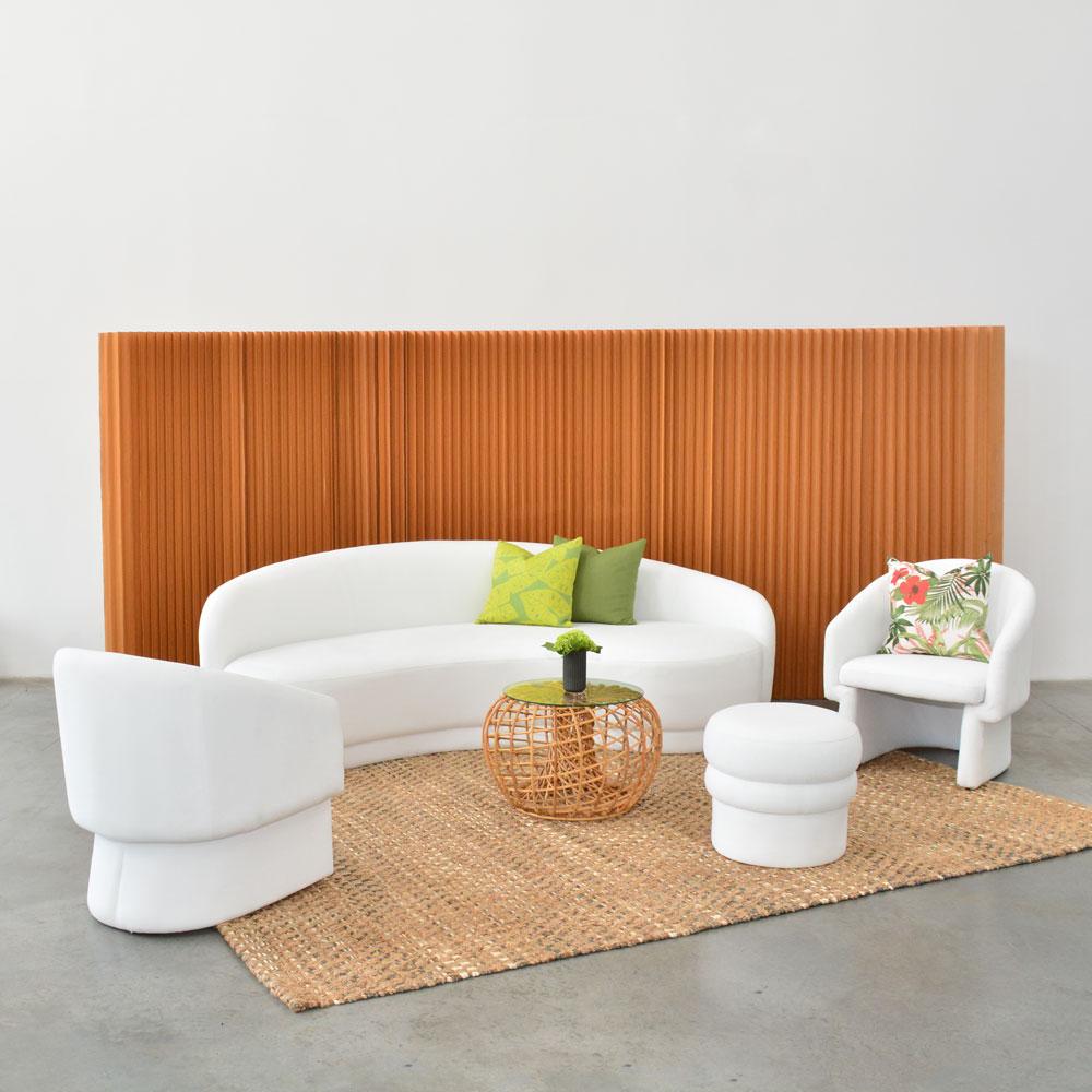Additional image for slope sofa white