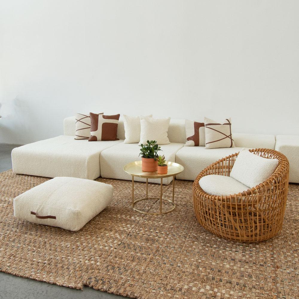 Additional image for lounge modular faux sheepskin