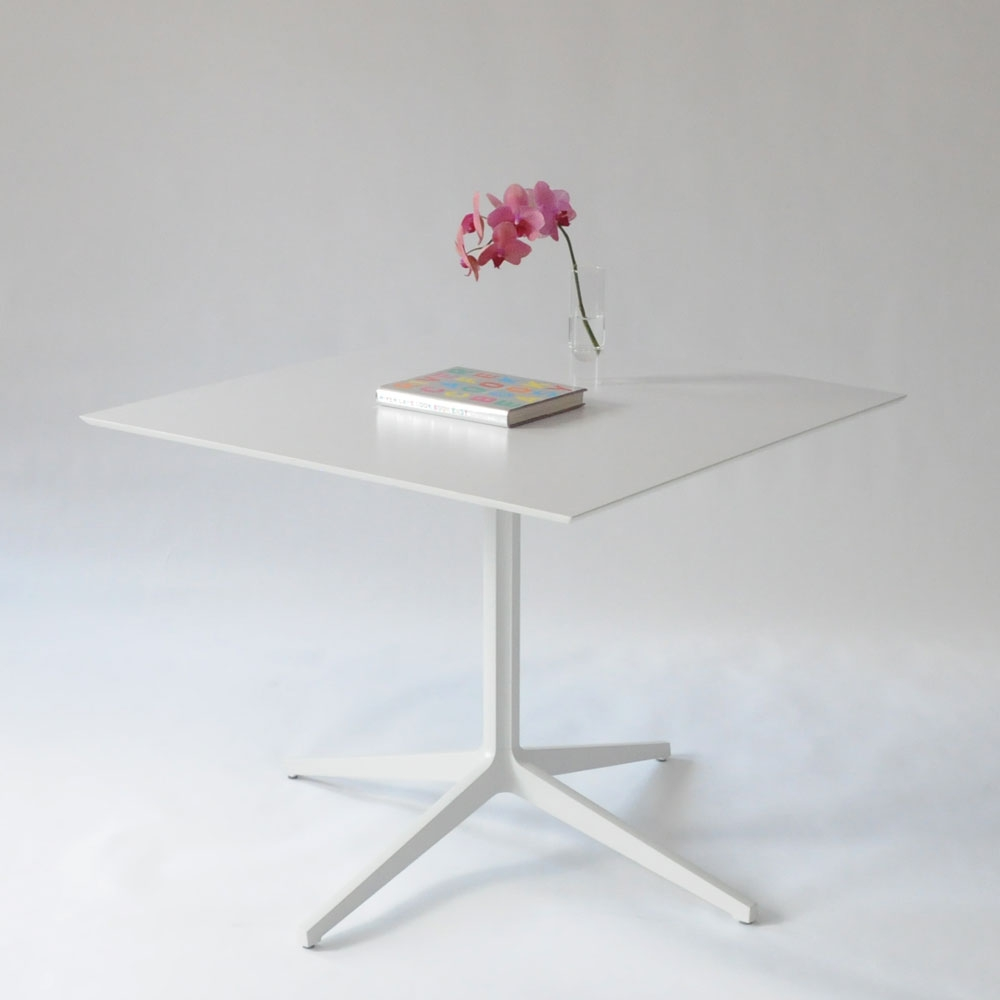 Additional image for leo square table white