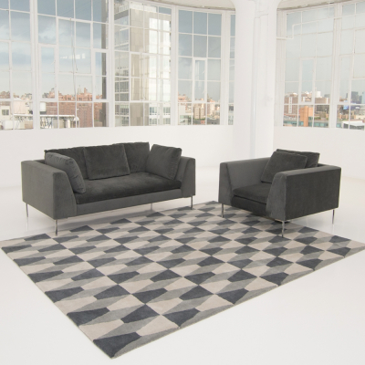 Additional image for hudson sofa gray