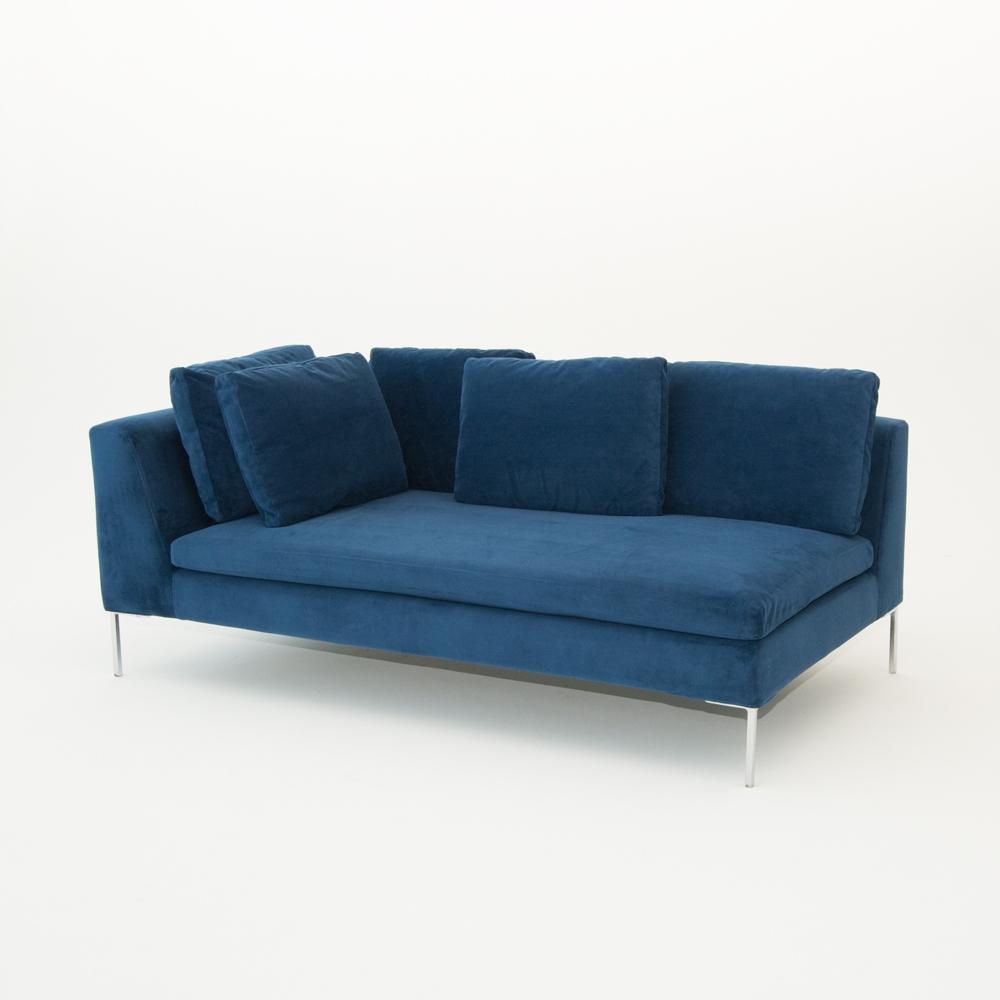 Additional image for hudson loveseat blue