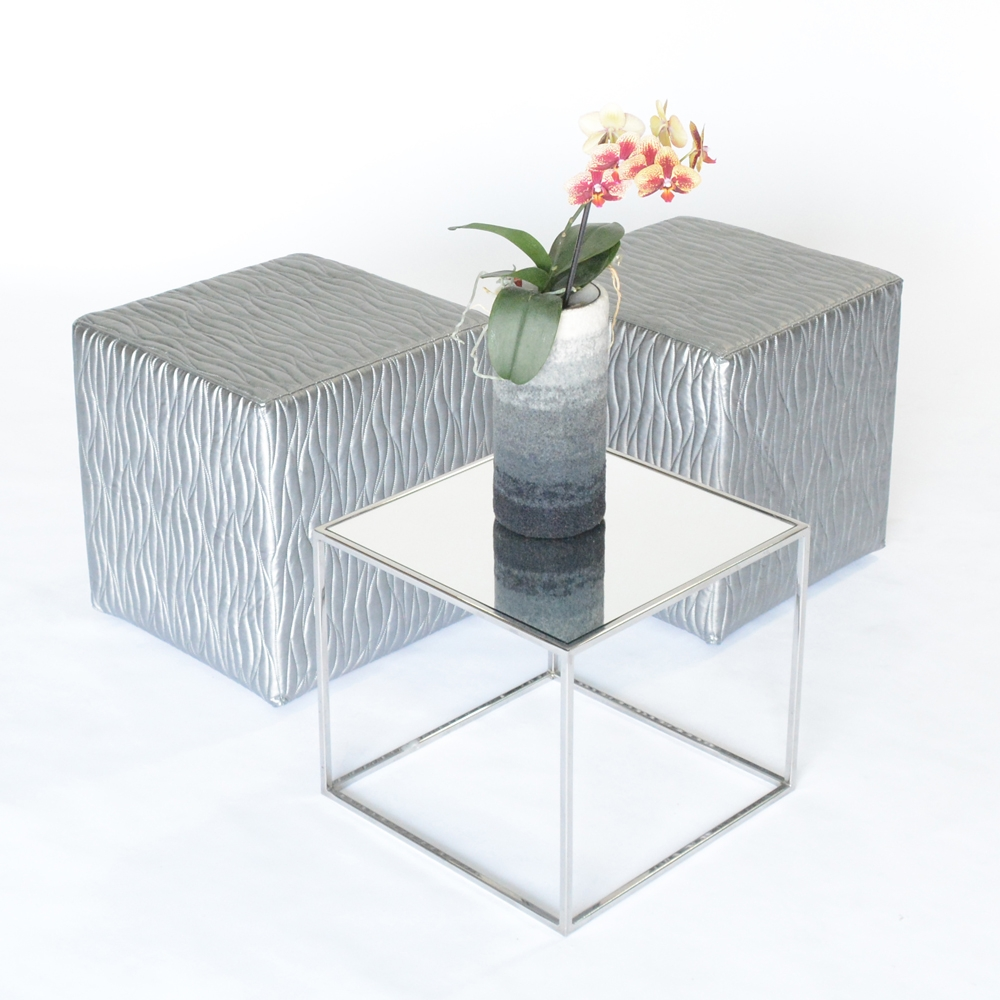 Additional image for oscar cube ebb & flow silver