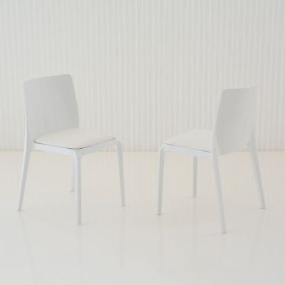 Additional image for whitney chair white