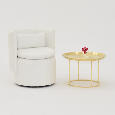 Additional image for plateau coffee table brass