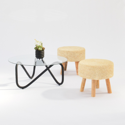 Additional image for wave coffee table black