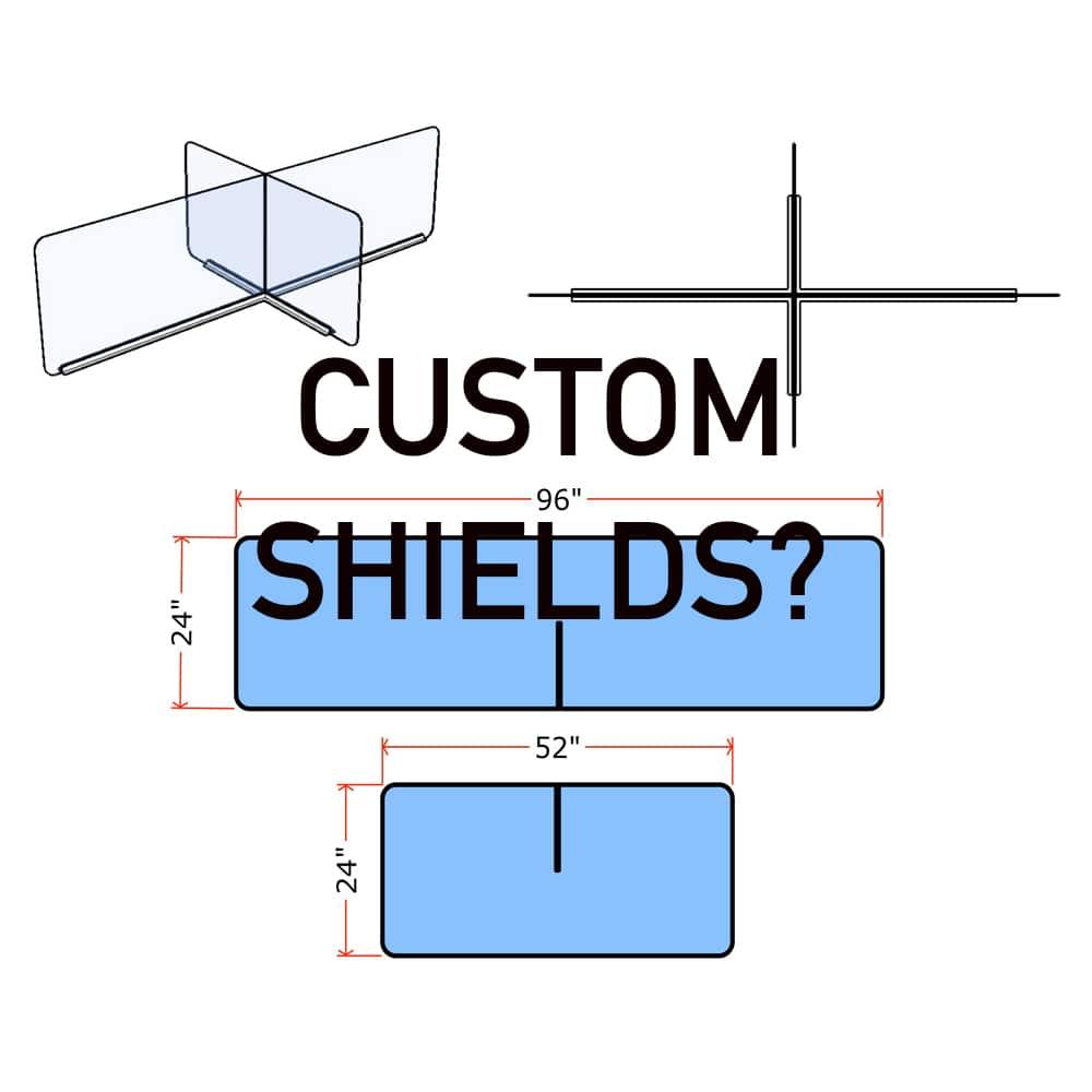 custom shields