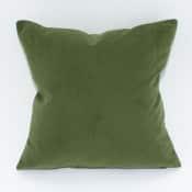 forest velvet pillow