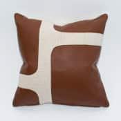 arno leather pillow