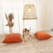 tuscan velvet floor cushion