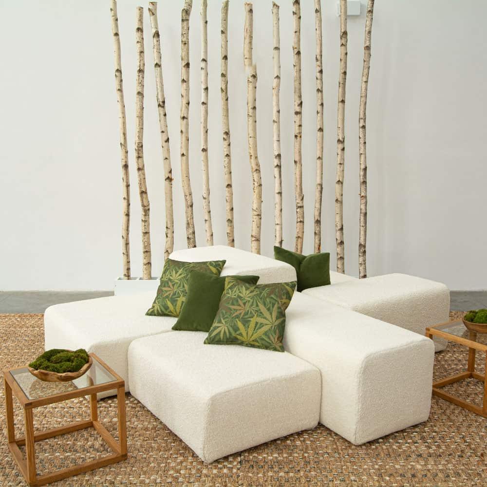 Additional image for forest velvet pillow