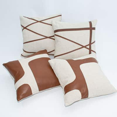 Additional image for arno leather pillow