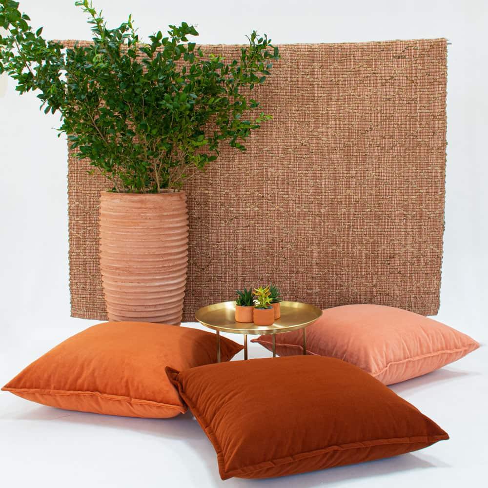 Additional image for tuscan velvet floor cushion
