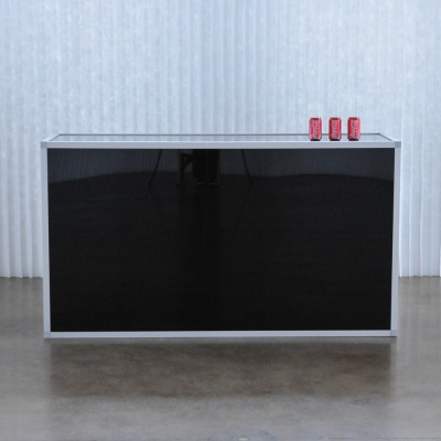Tate Bar Black Furniture Rentals For Special Events