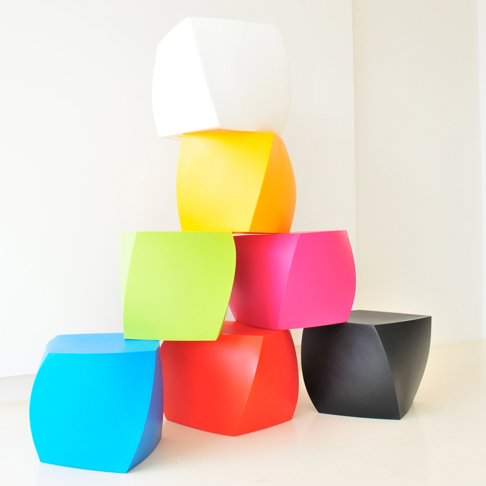 gehry color cubes